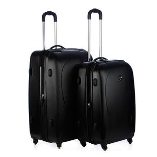 Heys xCase 2 piece Metallic Hardside Spinner Luggage Set