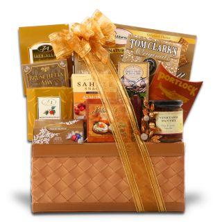Golden Decadence Gift Basket