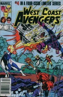 West Coast Avengers (Limited Series) (Issue #4) Roger Stern, Bob Hall