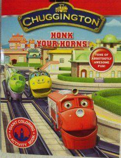 Chuggington Coloring & Activity Book 96 Pg ~ Honk your