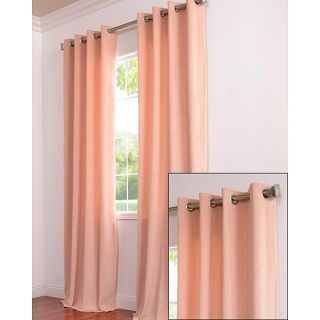 Signature Grommet Petal Velvet 108 Inch Curtain Panel
