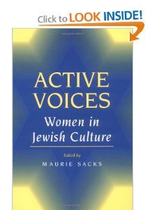 ACTIVE VOICES Women in Jewish Culture (9780252064531