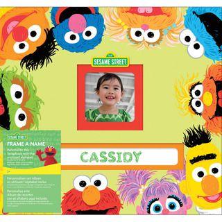 Sesame Street Frame A Name Postbound Album 12X12