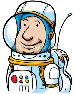 Cartoon Astronaut  Stock Photo © Brett Lamb #12682572