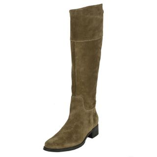 Tremp Womens 0366 Suede Flat Knee high Boots
