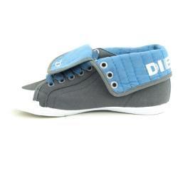 DIESEL Womens BN 210 B Gray Sneakers Shoes