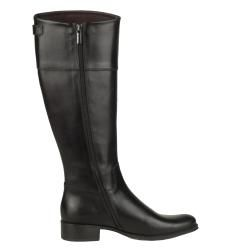 Tremp Womens 0366 Leather Flat Knee high Boots