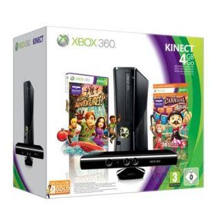 XBOX 360 4GO+KINECT+CARNIVAL+LIVE GOLD 3 MOIS   Achat / Vente XBOX 360