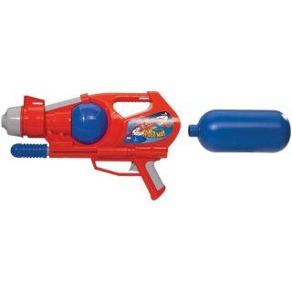 Simba   Pistolet à eau Spiderman avec mécanisme à pompe. Les tirs