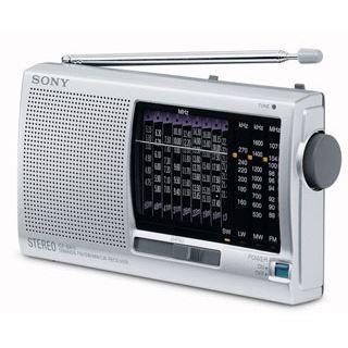 SONY ICF SW11   RADIO WORLD BAND   Tuner analogique FM / PO / GO / 9