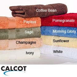 Calcot Supima Cotton 3 piece Bath Towel Set