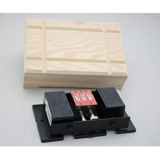 Broan RC210N Bell Nature Unfinished Wood Door Chime