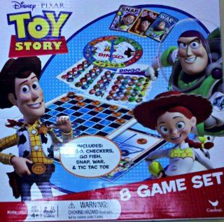 Toy Story 8 Game Set Toys & Games