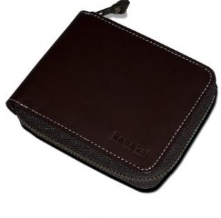 Kena Kai DataSafe #174; Nappa Leather Zippered Wallet
