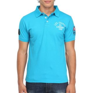 LEE COOPER Polo Homme Turquoise   Achat / Vente POLO LEE COOPER Polo