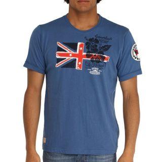 DEELUXE T Shirt Baléares Homme Bleu   Achat / Vente T SHIRT DEELUXE T