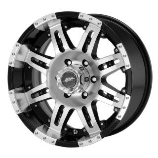 Dale Earnhardt Jr Cannon DJ1093 Gloss Black Machined Wheel with Clear
