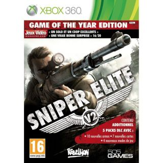 XBOX 360 SNIPER ELITE V2 GAME OF THE YEAR / Jeu XBOX 360