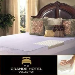 Grande Hotel Collection Big Comfort 3 inch Twin/ Full size Memory Foam