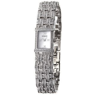 Wittnauer Womens Stainless Steel Crystal Watch
