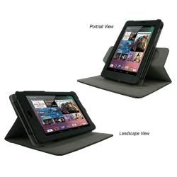 rooCASE Dual View Leather Case Cover for Google Nexus 7 Tablet