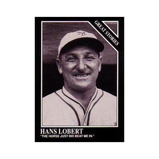 1991 Conlon TSN #172 Hans Lobert Story Collectibles