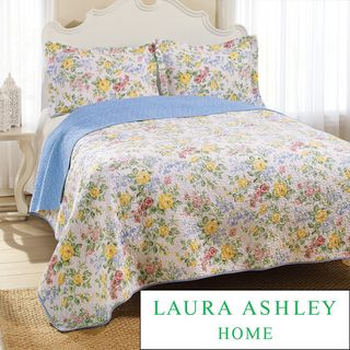 Laura Ashley Callington 3 piece Quilt Set