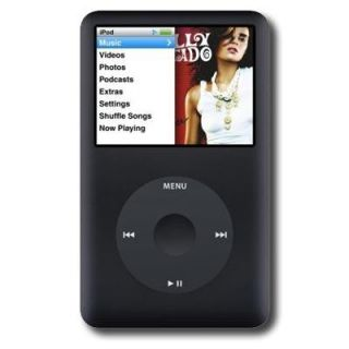 Apple iPod Black Classic 160GB 6th Generation (Refurbished