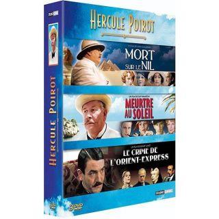 Coffret Hercule Poirot  leen DVD FILM pas cher