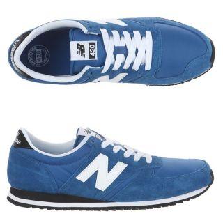 Modèle 420. Coloris  Bleu royal, blanc et noir. Baskets NEW BALANCE