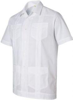 Cubavera Mens Traditional Guayabera Camp Shirt. CM176