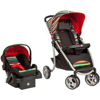 Safety 1st SleekRide Travel System in London Stripe Today $179.99 4.0