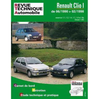 Rta 115.1 Renault clio essence et diesel   Achat / Vente livre