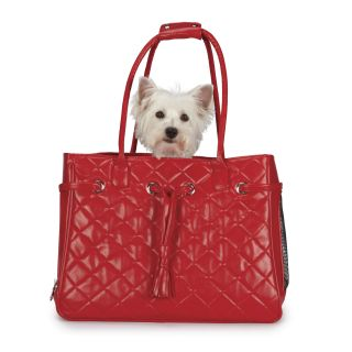 Zack & Zoey Vineyard Red Quilted Small Pet Carrier Today $53.99