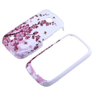 Snap on Spring Flowers Case for LG VN270 Cosmos Touch