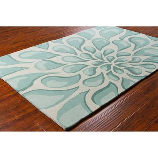 Allie Handmade Abstract Wool Rug (5 x 76)