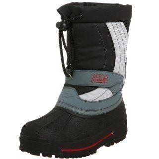 Brown Little Kid/Big Kid Summit Boot,Grey,3 M US Little Kid Shoes