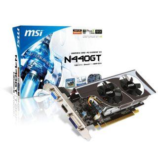 MSI GF GT440 1Go DDR3 Low profile   Achat / Vente CARTE GRAPHIQUE MSI