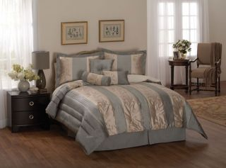 Chantal Luxury Bedding Ensemble with 230tc Sheet Set