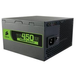 Alimentation 450 Watt   Certifiée 80 PLUS   Ventilateur 120 mm