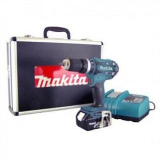 PERCEUSE   VISSEUSE MAKITA perceuse visseuse percussion 18V+2 batterie