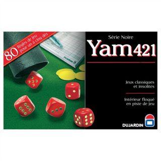Yam 421 piste Série noire   Achat / Vente JEU DE PLATEAU Yam 421