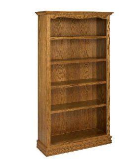 72 Solid Oak Americana Bookcase IFA182 Furniture & Decor