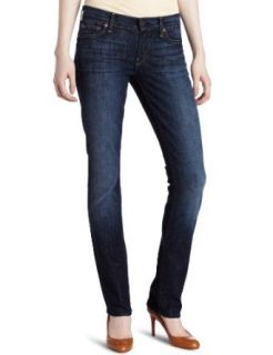 7 For All Mankind Womens Straight Leg Jean in Nouveau New