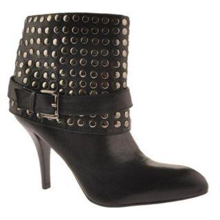 Womens Enzo Angiolini Liliac Black Leather