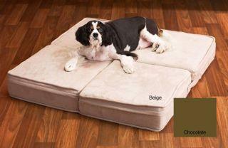 Memory Foam Foldable Square Pet Bed/ Ottoman
