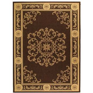 Indoor/ Outdoor Sunny Chocolate/ Natural Rug (710 x 11)