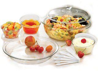 Pyrex 17 Piece Glass Bakeware Set