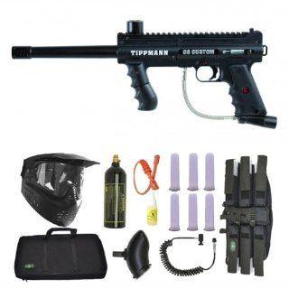 Tippmann 98 Custom PS Ultra Paintball Gun SNIPER Set