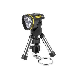 Stanley 95 113 Mini Tripod Keychain LED Flashlight (Pack of 3